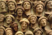 Classical womens heads