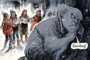 David Parkins Christmas illustration (22 December 2016)