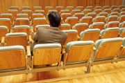 Empty conference