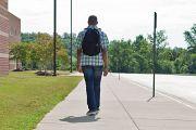 ethnic student leaving