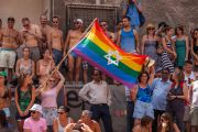 Gay pride parade in Tel Aviv, Israel