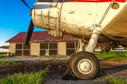 Grounded plane