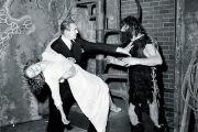 Scene from horror movie