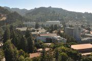 Houses and hills of Berkeley, California