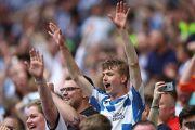 Huddersfield football supporters