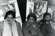 Hunger strike pickets, Grunwick photo-processing laboratory, Willesden, London
