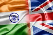 India, UK, flag
