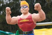 inflatable ironman