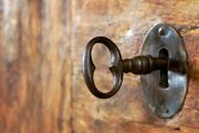 lock, key, open access