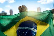 Brazilian flagbearer