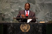 Raila Odinga, Kenya's prime minister between 2008 and 2013
