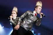 Jedward perform