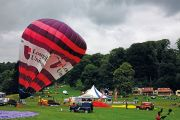 Loughborough University hot air balloon
