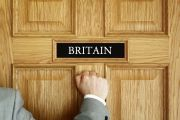 Man knocking on Britain's door