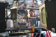 Man working at Synchrotron-light for Experimental Science and Applications in the Middle East (SESAME)