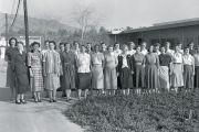 Nasa Jet Propulsion Laboratory team, Pasadena, California, 1953