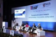 Intellectual property discussion at World Academic Summit