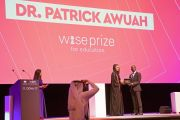 Patrick Awuah receives 2017 Wise Prize