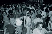 People dancing at Paradise Garage, New York City, 1979