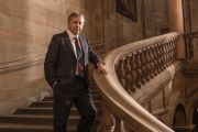 Peter Mathieson, the former head of the University of Hong Kong and vice-chancellor of the University of Edinburgh standing on a staircase