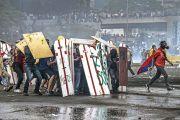Protestors in Venezuela