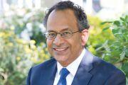 Rama Thirunamachandran, the vice-chancellor of Canterbury Christ Church University