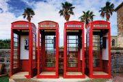 Red phoneboxes