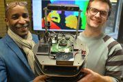 Students at Aberystwyth University design librarian robot
