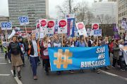 Save NHS march
