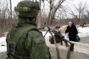 Solider in Ukraine