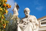 Statue of Plato, Academy of Athens, Greece