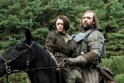 The Hound and Arya Game of Thrones