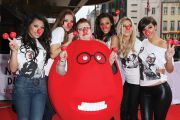 The Saturdays, Jo Brand, Red Nose Day, Comic Relief
