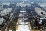 Crowds at Trump's inauguration