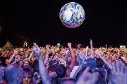 Crowd at Eurockéennes festival in France