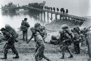 British Army troop in the Falklands