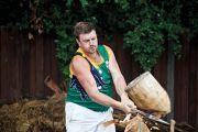 Lumberjack competition, Australia