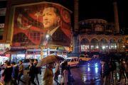 Poster of Turkish president Recep Tayyip Erdogan