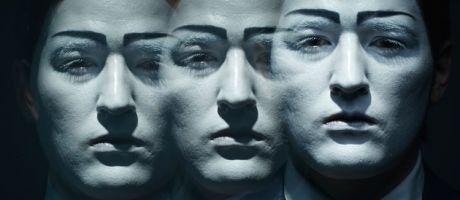 Duplicates of man's face