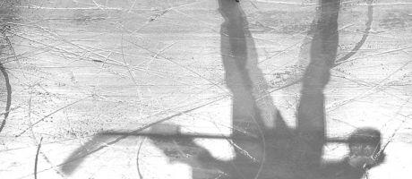 ice-hockey-player-shadow