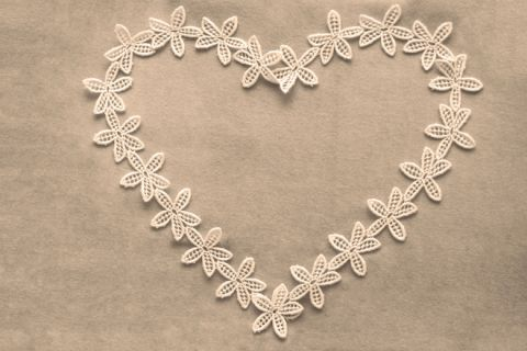 lacy heart