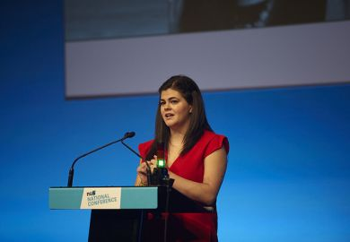 Megan Dunn, president of the National Union of Students