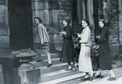 1930s female students, University of Leeds