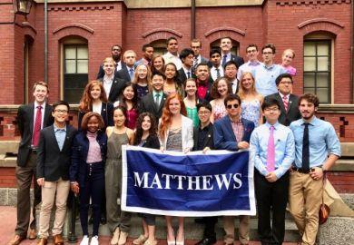 Brits in America: Harvard freshman Convocation