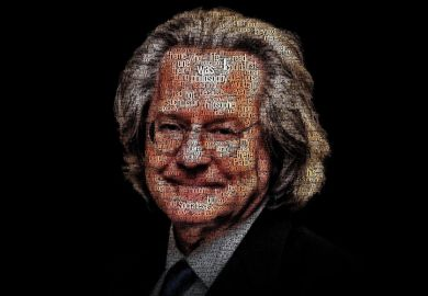 A. C. Grayling portrait, New College of the Humanities