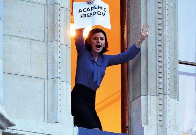 Academic freedom supporter