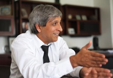 Adam Habib, vice-chancellor of the University of the Witwatersrand