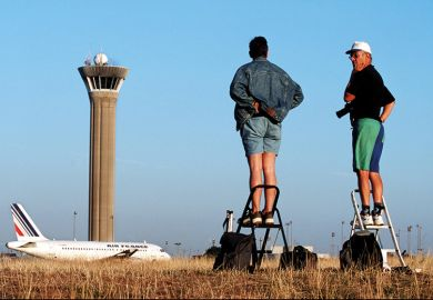 Airplane spotters
