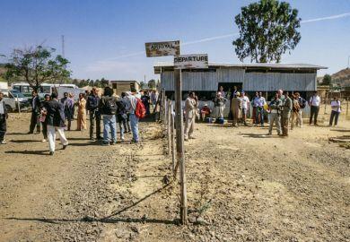 Airport in Ethiopia