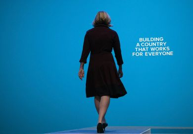 Amber Rudd at Tory Party Conference